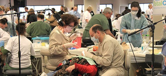 Connecticut Mission of Mercy Two Day Free Dental Clinic