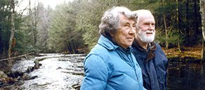 Esther and Richard Goodwin believed the preservation and conversation of our natural spaces; they chose to establish the Fund for Preservation and Stewardship of Natural Areas to support the Burnham Brook Preserve in perpetuity through a planned gift.