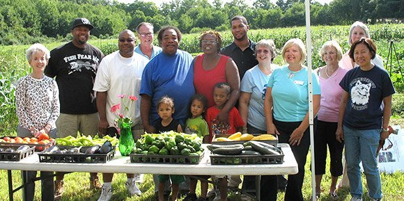 Middletown United Fathers Community Garden program
