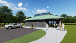 a 3D rendering by MPN Architects of the future Greater Military Museum
